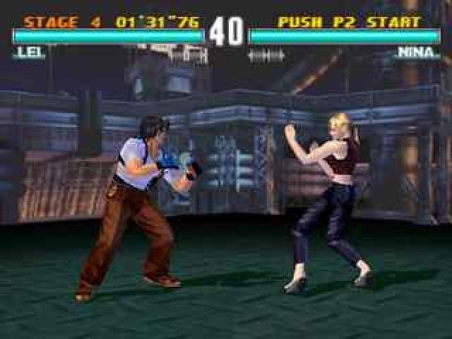 Tekken 3 (1998) by Namco PS game
