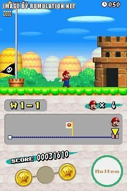 New Super Mario Bros  (2006) by Nintendo Nintendo DS game