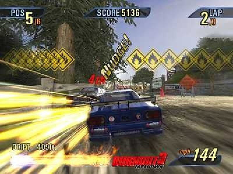 Burnout 3: Takedown (2004) by Criterion Games PS2 game