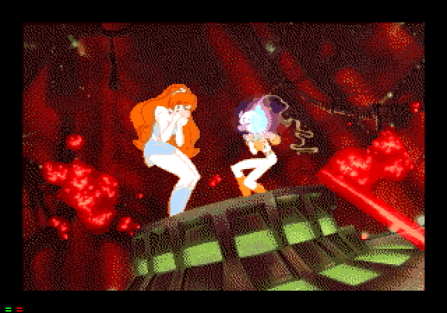 Space Ace (1993) by Epicenter Studios Mega-CD game