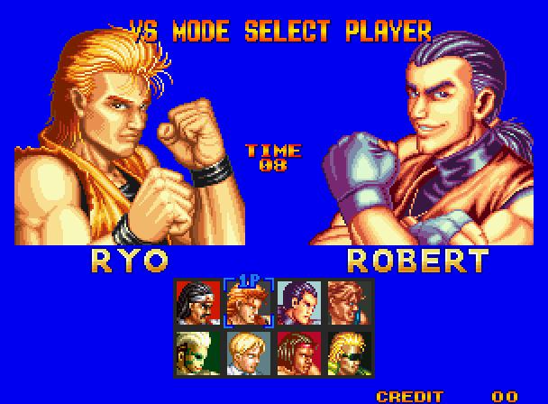 Ryo Sakazaki Character Info