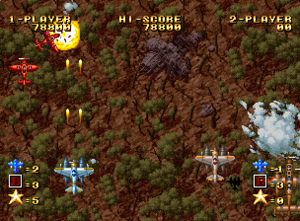Scrolling shooter