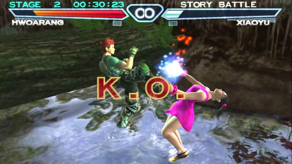 Tekken 4 2002 By Namco Ps2 Game