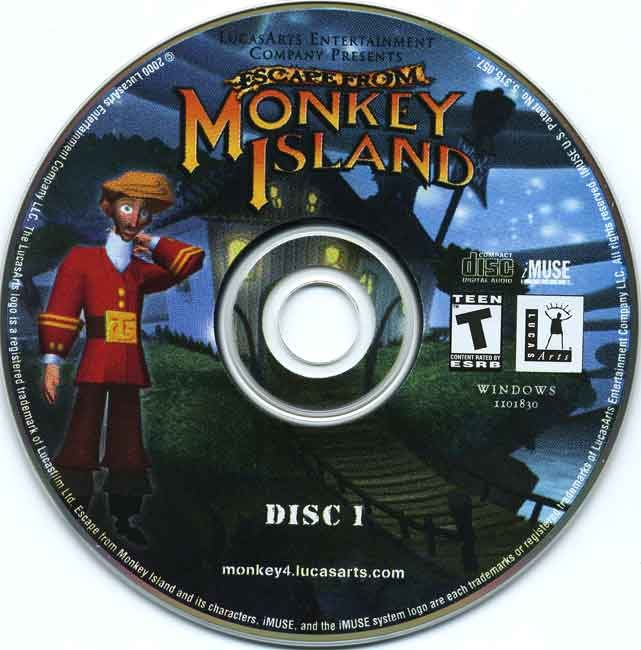 Escape From Monkey Island Residualvm Windows