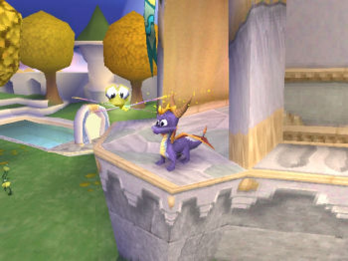 Spyro 2: Ripto's Rage (1998) by Insomniac Games PS game