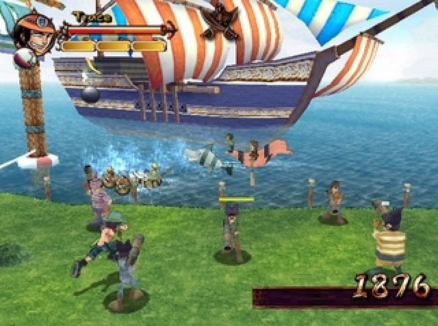 One Piece: Grand Adventure (2006) by Ganbarion GameCube game