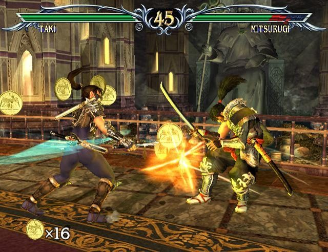 SoulCalibur III (2005) by Namco PS2 game