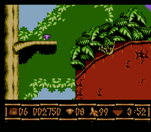 The Jungle Book Snes Game
