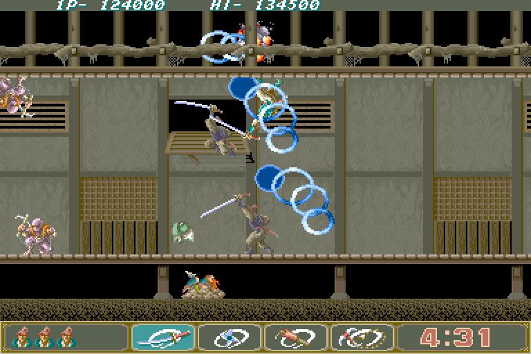 Ninja Spirit (1988) by Irem Arcade game
