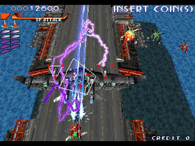 RayStorm (1996) by Taito Arcade game
