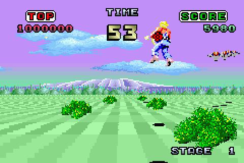 sega arcade gallery game boy advance