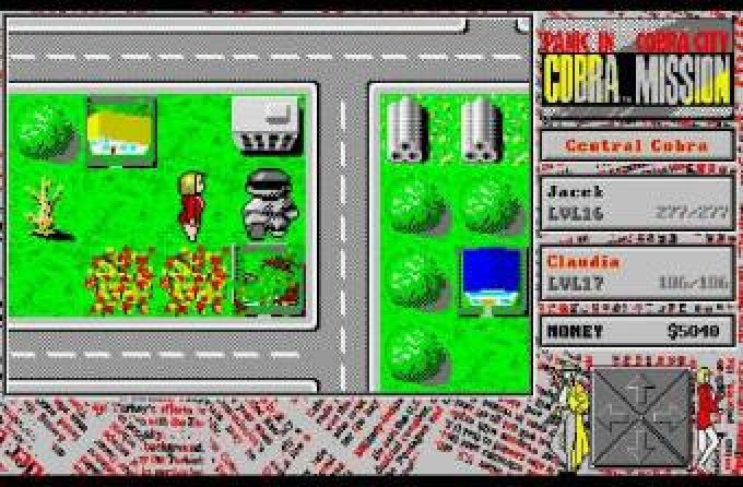 Cobra mission panic in cobra city 1992 by inos for Cobra mission