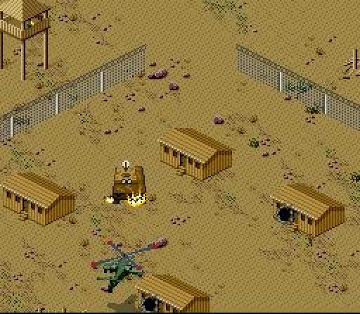 Desert Strike Return To The Gulf 1992 By Visual Concepts Snes Game