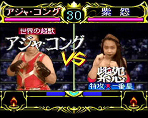 All Japan Womans Pro Wrestling: Queen of Queens (PC-FX)