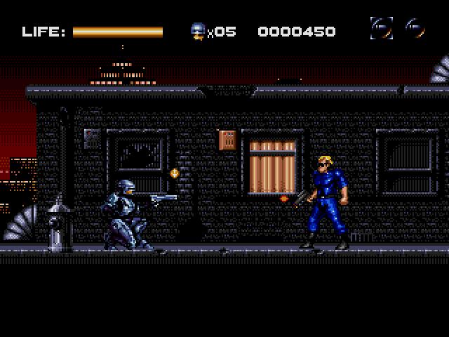 Robocop vs The Terminator (Sega Mega Drive / Sega Genesis)