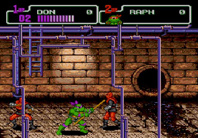 Teenage Mutant Ninja Turtles The Hyperstone Heist 1991 By Konami Mega Drive Game