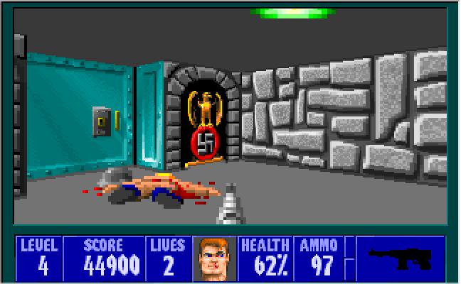 Wolfenstein 3D (1992) By Id Software MS-DOS Game