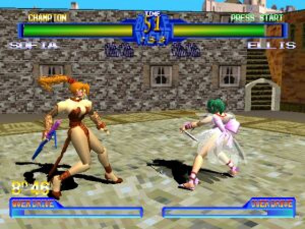 Battle Arena Toshinden 2 1995 By Tamsoft Ps Game