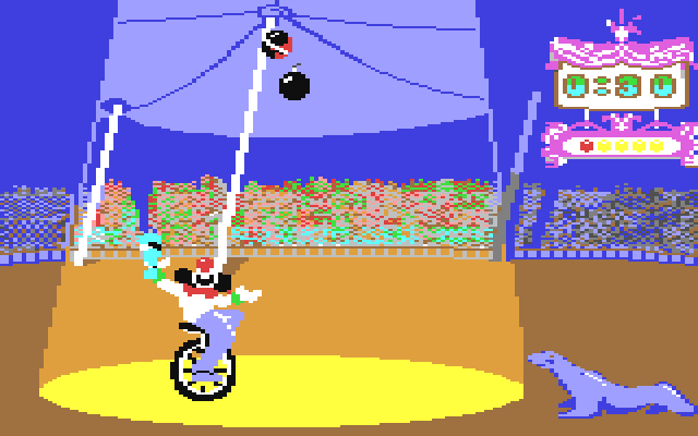 Fiendish Freddy's Big Top O' Fun (Commodore 64)