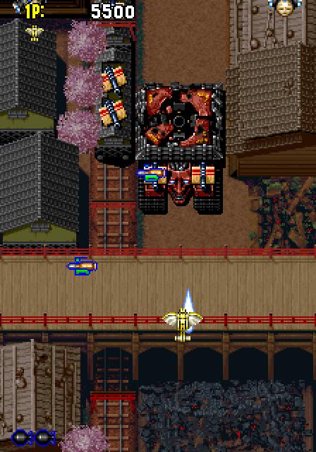 Samurai Aces (1993) by Psikyo Arcade game