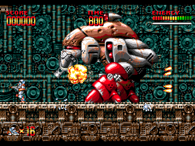 Mega Turrican Game Download | GameFabrique