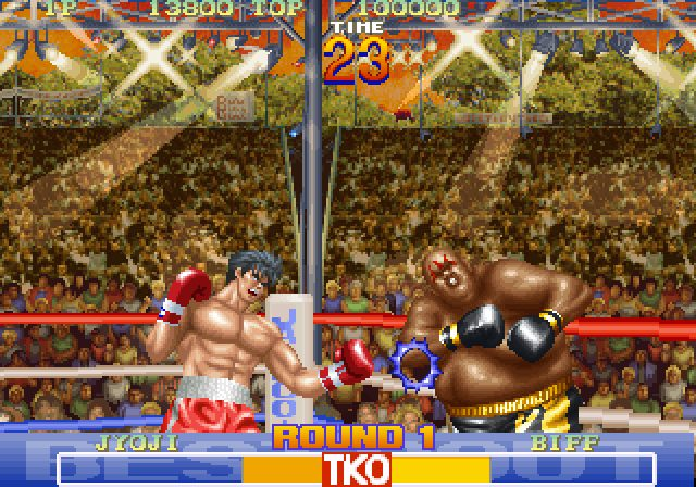 Best Bout Boxing (1994) by Jaleco Arcade game