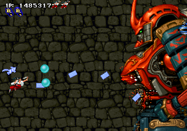 Sengoku Blade - Sengoku Ace Episode II (1996) by Psikyo Arcade game