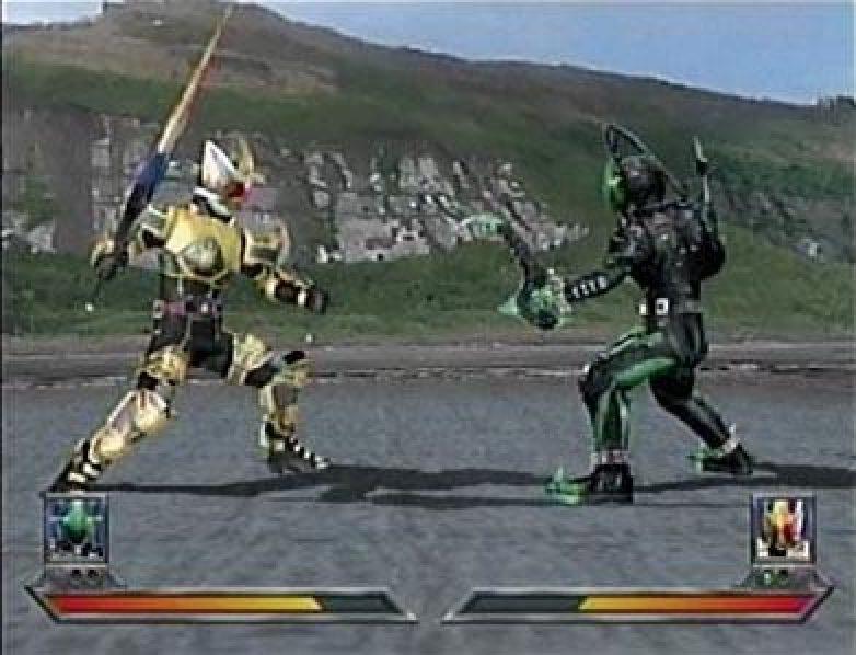 Kamen Rider Blade 2004 By Bandai Ps2 Game