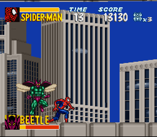 [Portable] Amazing Spider-Man - Lethal Foes [Super Nintendo] 22622