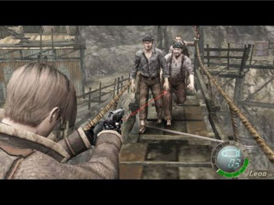 resident evil 4 gamecube screenshots