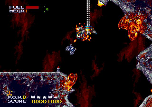 Sub-Terrania [Sega Mega Drive/Genesis]