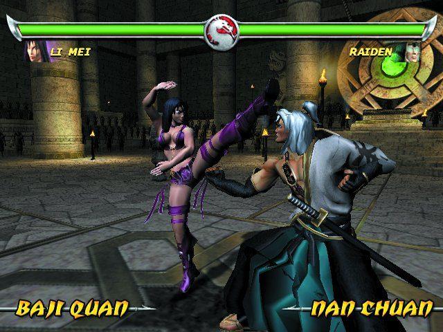Mortal Kombat: Deadly Alliance screenshots for PlayStation 2