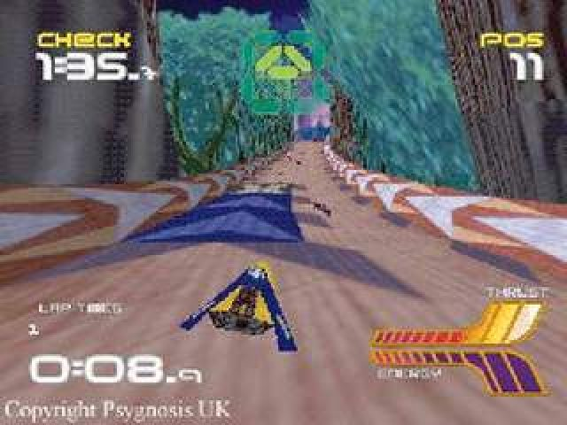 Wipeout 64 (1998) by Psygnosis N64 game