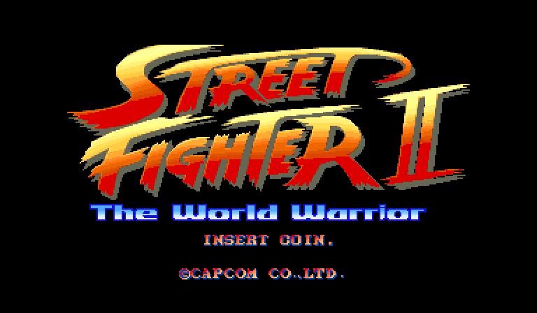 Street Fighter Ii The World Warrior 1991 Arcade Game