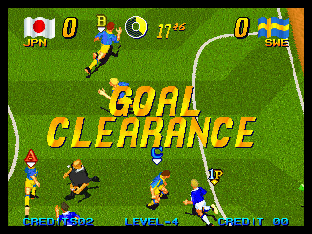 Pleasure Goal - 5on5 Mini Soccer in-game screen.