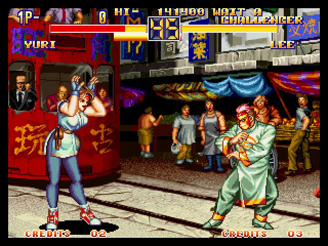 Art of Fighting 2 (1994) by SNK Neo-Geo game