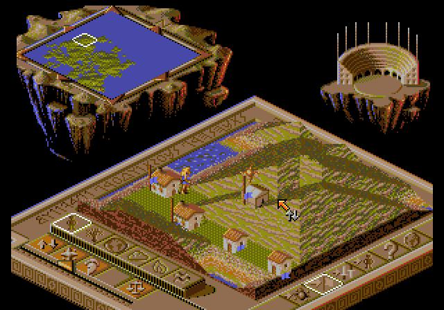 Populous II: Two Tribes (Sega Mega Drive / Sega Genesis)