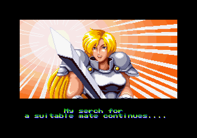 World Heroes in-game screen.