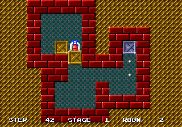 Shove It! The Warehouse Game (1990) by NCS Masaya Mega Drive game