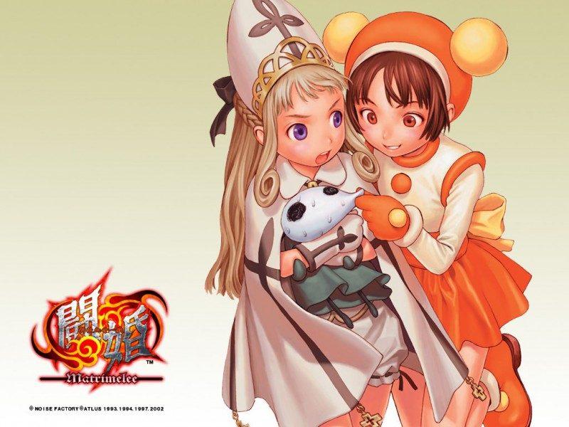 Gouketsuji Ichizoku: Matrimelee in-game screen.