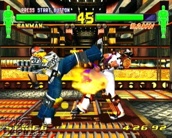 Fighting Vipers 2 (2000) by AM2 Dreamcast game