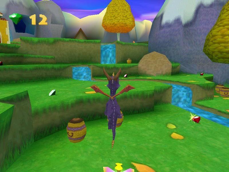 Описание: Последняя часть приключений Спайро на PS1.На этот раз злая колдунья похитила яйца драконов...