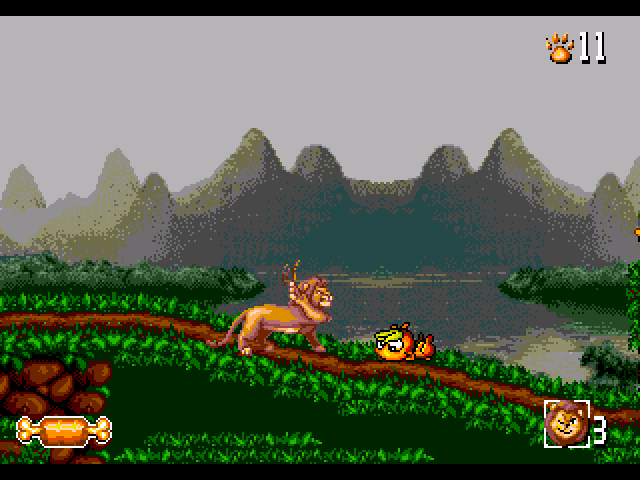 the lion king 2 mega drive game