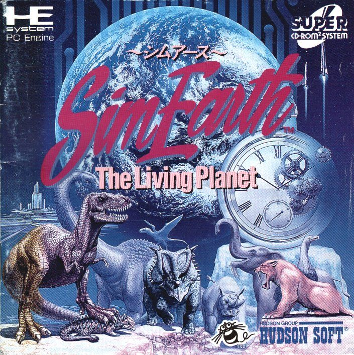 Terraforming Mars Pc Game: SimEarth: The Living Planet (1993) By Maxis PCE CD Game