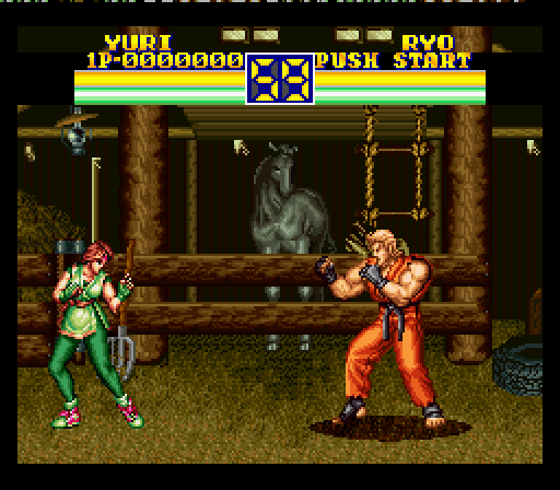 Art Of Fighting 2 1994 By Saurus Snes Game