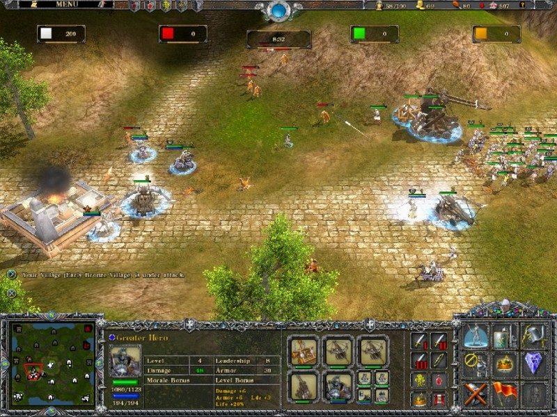 Seven Kingdoms: Conquest - GameCopyWorld