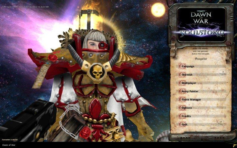 Warhammer 40 000: Dawn of War - Soulstorm (2008) .