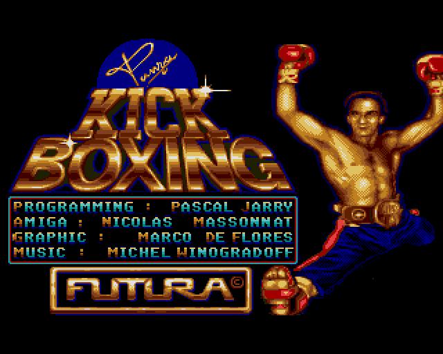 Panza Kick Boxing in-game screen.