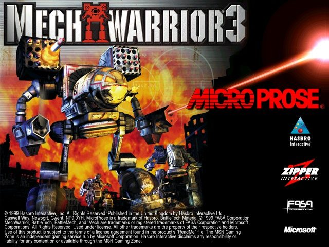 MechWarrior 3 screenshots for Windows