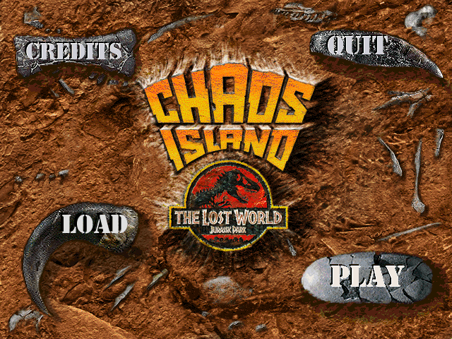 Chaos Island The Lost World Jurassic Park Iso